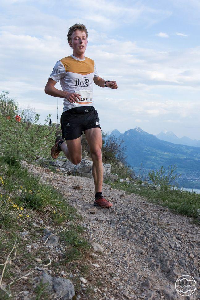 Fleury Roux, ici en version trail durant la Short Race d'Annecy (16 km, 970 m de D+) en 2019.