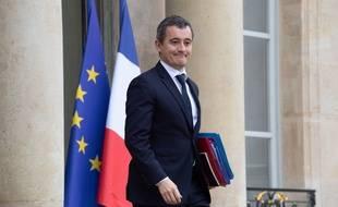 Le ministre des Comptes publics, Gérald Darmanin, à l'Élysée le 27 novembre 2019.