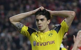 Le défenseur du Borussia Dortmund, Marc Bartra, le 14 février 2017.