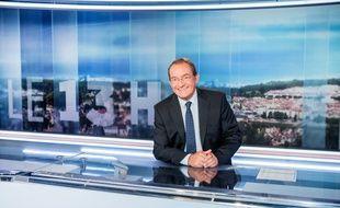 Jean-Pierre Pernaut, présentateur du 13 H de TF1.