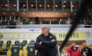 L'entraîneur nantais René Girard.
