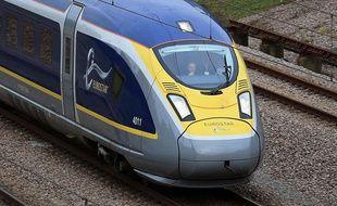 Un Eurostar dans le sud de l'Angleterre.
