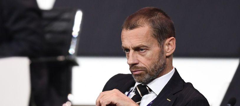 Le boss de l'UEFA, Aleksander Ceferin.