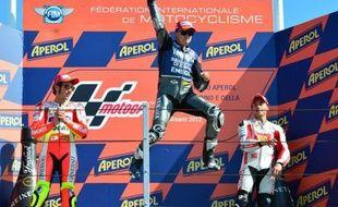 L'Espagnol Jorge Lorenzo (Yamaha) a remporté l'épreuve MotoGP du Grand Prix de Saint-Marin, dimanche, signant son 6e succès de la saison et le 2e consécutif à Misano, en devançant l'Italien Valentino Rossi (Ducati) et son compatriote Alvaro Bautista (Honda).