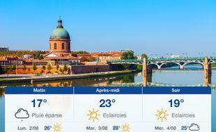 Météo Toulouse: Prévisions du dimanche 1 août 2021