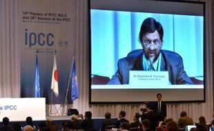 Discours de Rajendra Pachauri lors de la réunion des experts du Giec le 25 mars 2014 à Yokohama