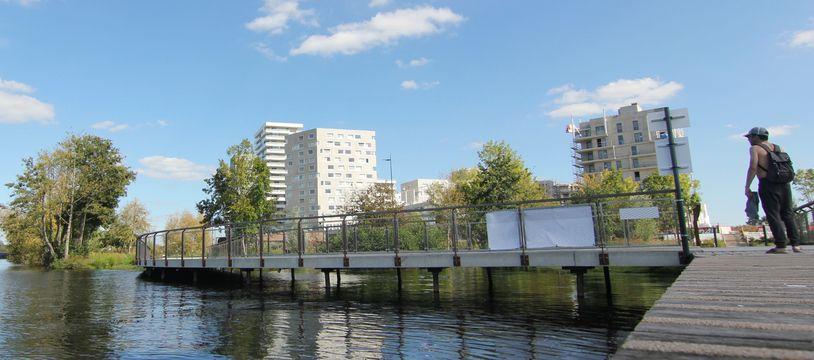 Le quartier de Baud-Chardonnet et son parc offrent un accès privilégié aux bords de la Vilaine.