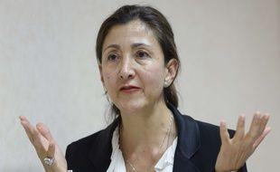 Ingrid Betancourt à Genève, le 21 septembre 2016.