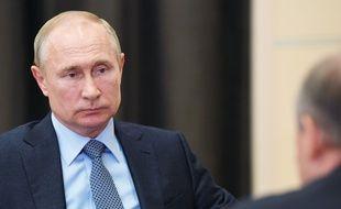 Les mesures de sécurité sont encore renforcées autour de Vladimir Poutine pendant la pandémie de coronavirus.