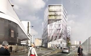 Rennes: le futur quartier eurorennes se dessine en triangle