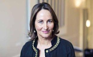 Ségolène Royal, le 22 avril 2013 lors d'une conférence de presse sur la Banque publique d'investissement.