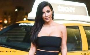 Kim Kardashian, en décembre 2014, à Miami.
