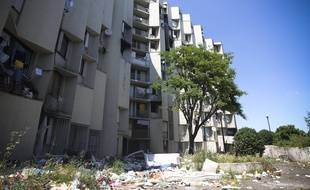Les Castalides, dans le quartier du Mirail a ete declare insalubre en 2013.