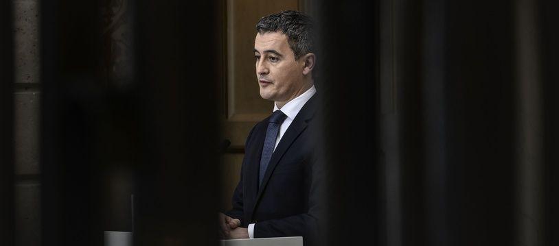 Gérald Darmanin à l'Elysée le 9 décembre 2020.