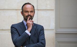 Edouard Philippe, le premier ministre lors d'u point presse le 23 mai 2019 à l'Elysée.
