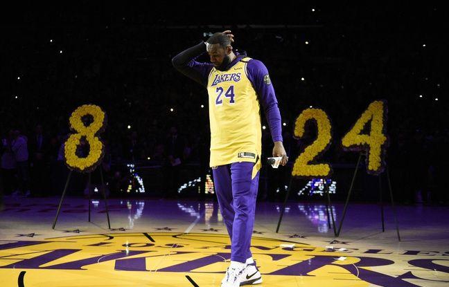 VIDEO. Mort de Kobe Bryant: Emu aux larmes, LeBron James s'engage « à perpétuer l'héritage » du Black Mamba
