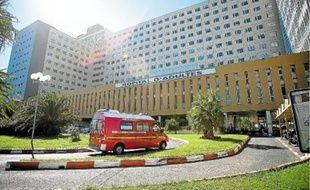 L'hôpital de la Timone (10e) à Marseille.