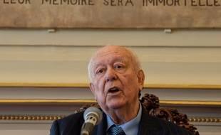 Le maire de Marseille lors de ses voeux en 2019