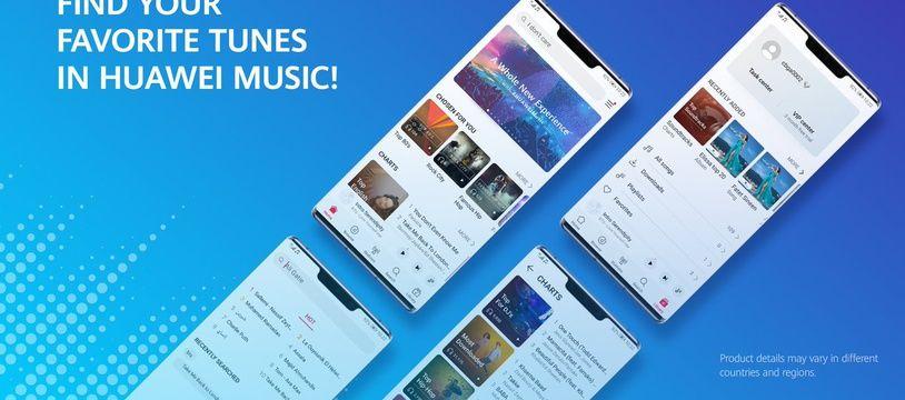 Huawei Music: un nouveau rival pour Spotify et Apple Music