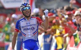Thibaut Pinot au sommet de sa forme lors du Tour de Lombardie.