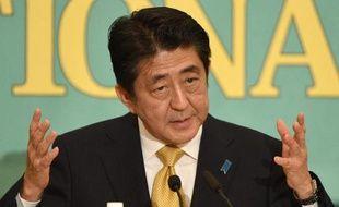 Le Premier ministre japonais Shinzo Abe, le 1er décembre 2014 à Tokyo
