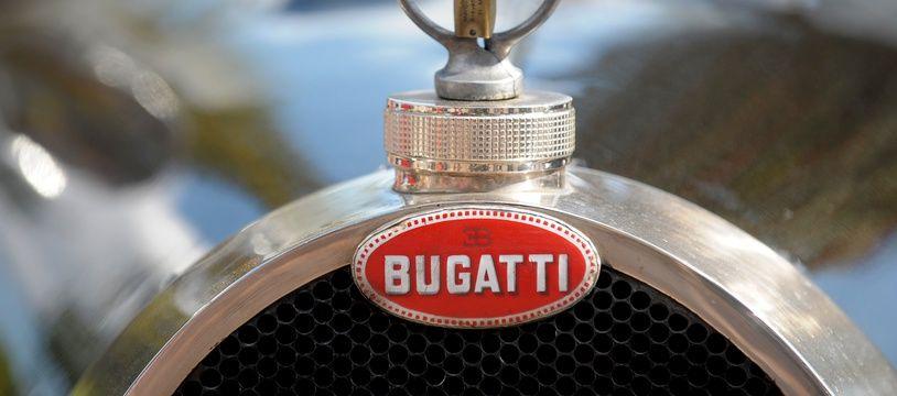 Illustration d'une Bugatti.