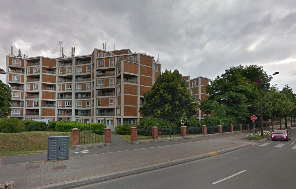 Une femme est tombée du 4e étage de cet immeuble, à Lille. – Google Maps