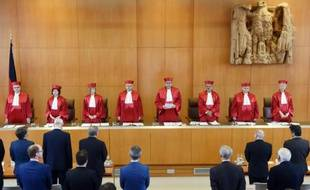 La Cour constitutionnelle de Karlsruhe à Karlsruhe, le 21 juin 2016