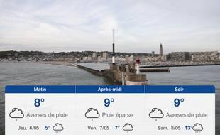 Météo Le Havre: Prévisions du mercredi 5 mai 2021