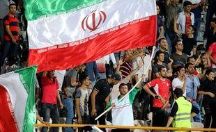 Des supporters iraniens en septembre  2016.