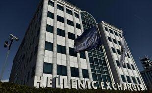 La Bourse d'Athènes, le 15 juin 2015