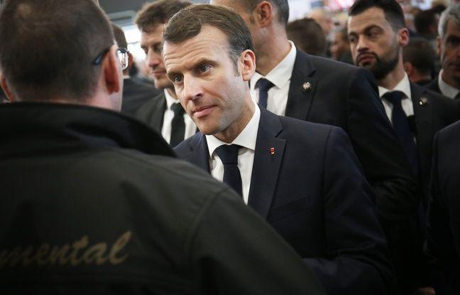 VIDEO. Salon de l'agriculture: Non, le retraité qui a pleuré en rencontrant Emmanuel Macron n'est pas un acteur