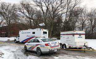 La police canadienne (illustration).