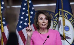 Nancy Pelosi à Washington, le 23 mai 2019.