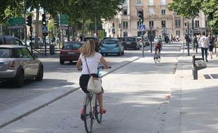 Le nombre de cyclistes a fortement augmenté ces dernières années à Rennes.