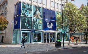 Un magasin de la marque Gap (illustration).