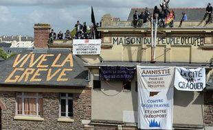 La «Maison du peuple» était occupée par des opposants à la loi travail depuis le 1ermai.