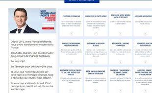 Le Cv de Manuel Valls selon notre contributeur Gilles Payet