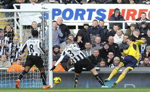Le match entre Newcastle et Sunderland en Premier League le 1er février 2014.