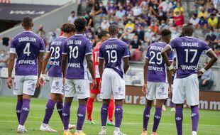 Les joueurs du TFC, ici contre Dunkerque le 22 août, ont perdu leurs deux premiers matchs de Ligue 2.
