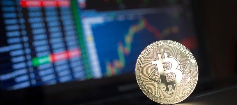 Illustration bitcoin.
