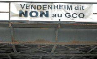 Le GCO doit passer par Vendenheim.