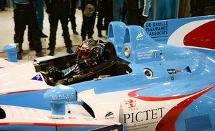 Inès Taittinger est l'une des deux seules femmes à avoir pris le départ au Mans cette année.