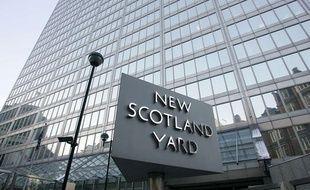 Le siège de Scotland Yard, à Londres, en décembre 2010.