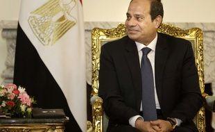 Le président égyptien Al-Sissi, le 18 mai 2016.