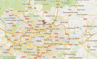 Google map de Garges-les-Gonesse.