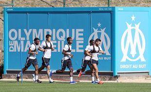 Illustration. Olympique de Marseille.