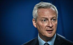 Le ministre de l'Economie et des Finances Bruno Le Maire à l'OCDE le 29 août 2019.