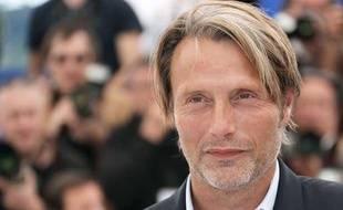Mads Mikkelsen à Cannes le 24 mai 2013.