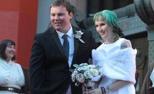 Andrew Porters et Caroline Ritter se sont mariés devant le TCL Chinese theatre de Los Angeles.